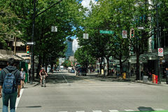 Downtown Vancouver B.C., Canada Stock Photo