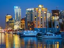 Vancouver, BC. Royalty-vrije Stock Foto