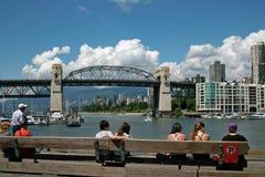 False Creek, Vancouver BC, Canada Stock Photos