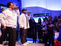 Naturally 7 at the Bell Ice Cube in Vancouver BC Royalty Free Stock Photography