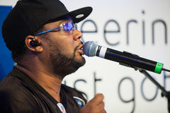Naturally 7 at the Bell Ice Cube in Vancouver BC Stock Image