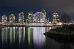 VANCOUVER, BC, il CANADA - 19 novembre 2016: Cupola geodetica di Van Immagini Stock