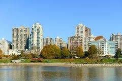 Vancouver BC, Kanada Arkivbilder
