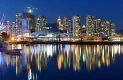 Vancouver BC, Kanada Royaltyfri Fotografi