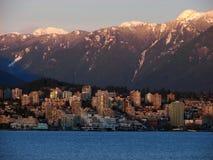 Vancouver, BC, le Canada Image stock