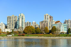 Vancouver, BC, le Canada Images stock