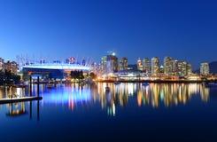 Vancouver, BC, le Canada Image libre de droits