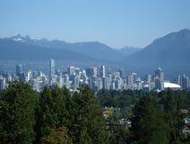 Vancouver, BC orizzonte Fotografia Stock