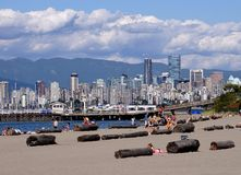 Vancouver beach Stock Images