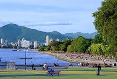 Vancouver beach Stock Photo