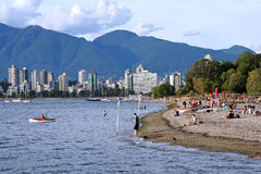 Vancouver beach Stock Image