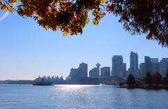 Vancouver Biznesowa sekcja, BC Zdjęcie Stock