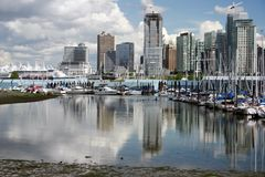 Vancouver boathouse Royalty Free Stock Images