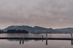 Vancouver, Britisch-Columbia/Kanada - 24. Dezember 2017 Stockbilder