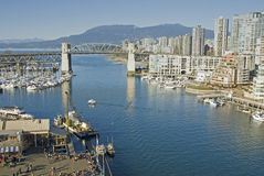 Vancouver, British Columbia Royalty Free Stock Images