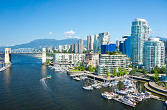 Vancouver, British Columbia, Canada Royalty Free Stock Photography