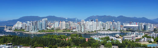 Vancouver in British Columbia, Canada Stock Photography