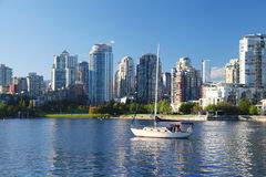 Vancouver in British Columbia, Canada Royalty Free Stock Images
