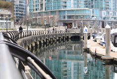Coal Harbour Stock Image