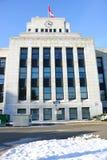 Vancouver British Columbia stadshus royaltyfri bild
