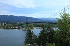 Vancouver bro Arkivbilder
