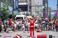 Vancouver Busker Festival Stock Photo