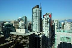 Vancouver céntrica, Canadá Foto de archivo libre de regalías