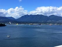 Vancouver A.C. en el punto de la perspectiva Foto de archivo