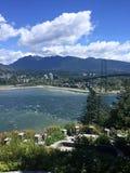 Vancouver A.C. en el punto de la perspectiva fotografía de archivo
