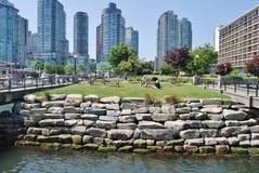 Lungomare di Vancouver Fotografie Stock