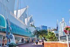 Kanada förlägger hamnen i Vancouver, CA Arkivfoton