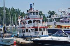 Het Systeem van het Vervoer van Vancouver Stock Foto