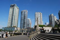 Vancouver Modern Architecture Royalty Free Stock Photography
