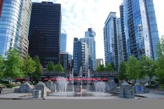 Vancouver Modern Architecture Royalty Free Stock Images