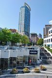 De Moderne Architectuur van Vancouver, Canada Stock Afbeelding