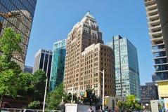 De Moderne Architectuur van Vancouver, Canada Stock Afbeeldingen