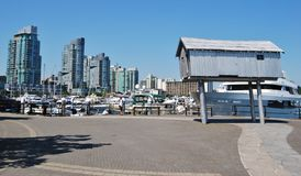 Vancouver modern arkitektur Royaltyfri Fotografi