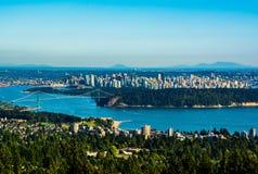 Vancouver, Canadá Imagen de archivo libre de regalías