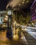 Vancouver, Canadá - 14 de enero de 2017 Gastown, calle del agua Foto de archivo libre de regalías