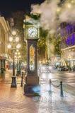 Vancouver, Canadá - 14 de enero de 2017 Gastown, calle del agua Imágenes de archivo libres de regalías