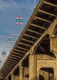 Vancouver, Canadá - 18 de marzo de 2016 Puente de Burrard fotos de archivo libres de regalías