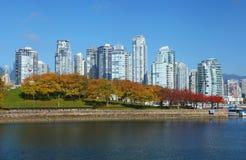 Vancouver in Canada Stock Afbeeldingen