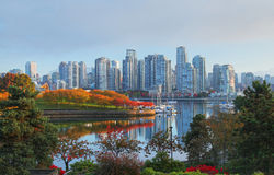 Vancouver in Canada Royalty-vrije Stock Foto