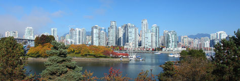 Vancouver in Canada Royalty-vrije Stock Afbeelding