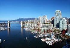 Vancouver in Canada Stock Foto's
