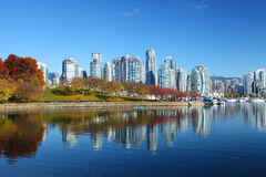 Vancouver in Canada Stock Afbeelding