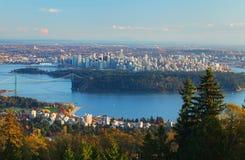Vancouver in Canada Royalty-vrije Stock Afbeelding