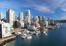 Vancouver in Canada Royalty-vrije Stock Foto's