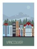 Vancouver Canada Royalty-vrije Stock Foto