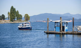 VANCOUVER, CANADA - AUGUST 24, 2016: Commuter Passenger Ferry in Stock Photography